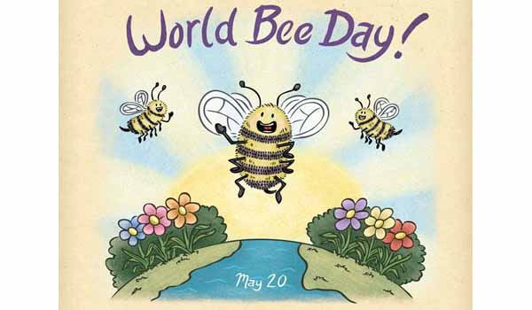 World Bee Day celebrated on 20th May Every year