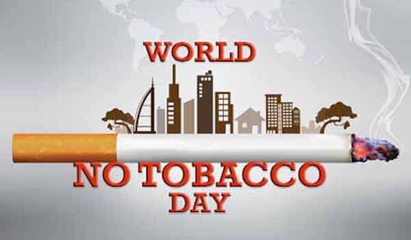 World No Tobacco Day celebrated on 31st May Each year