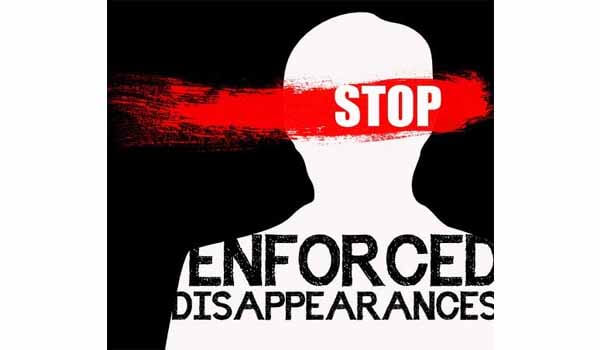 World Victims of Enforced Disappearances Day celebrated on 30th August Every year