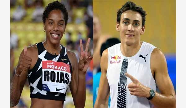 Yulimar Rojas & Mondo Duplantis won 2020 World Athletes of the Year