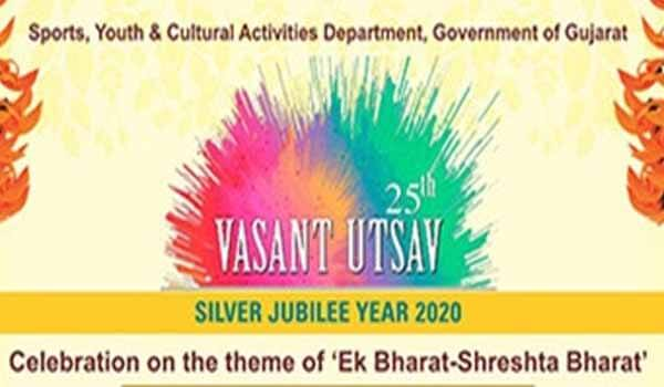 25th Vasantotsav began at Sanskruti Kunj in Gandhinagar