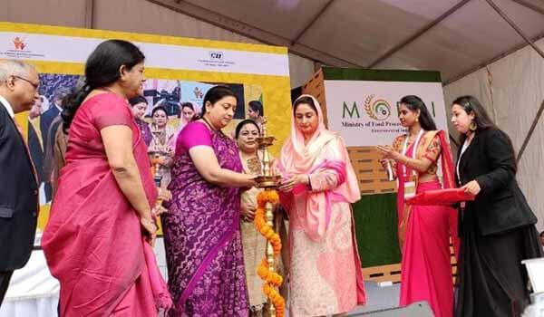 Union Food Minister Harsimrat Kaur Badal inaugurated National Organic Food Festival