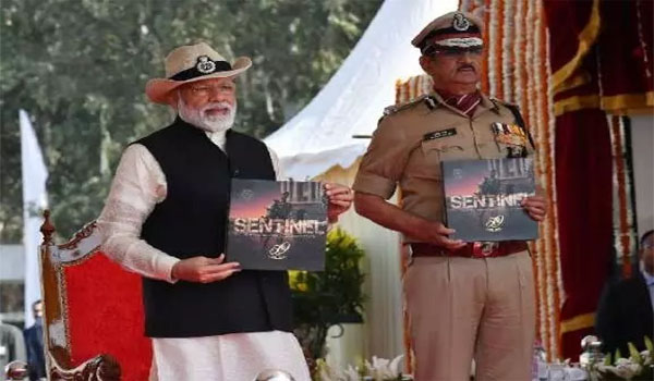 PM Modi attends 50th Raising Day ceremony of CISF