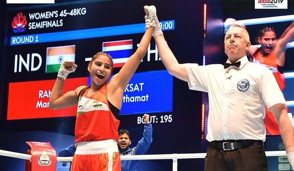 Manju Rani bags Silver at World Women's Boxing Championships