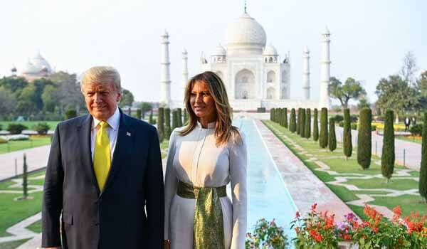 President Donald Trump arrives in New Delhi for two-days Visit to India
