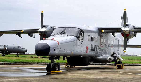 Indian Navy commissions sixth Dornier aircraft squadron INAS 313